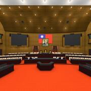 Wetgevende macht 3d model
