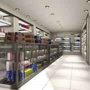 Apotheek winkel 3d model