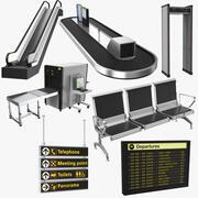 Airport Collectie 2 3d model