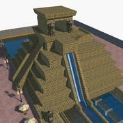 Parque aquático 3d model