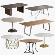 Coleção de mesa de jantar 3d model