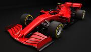 F1 Genérico Red Racing 2020 modelo 3d