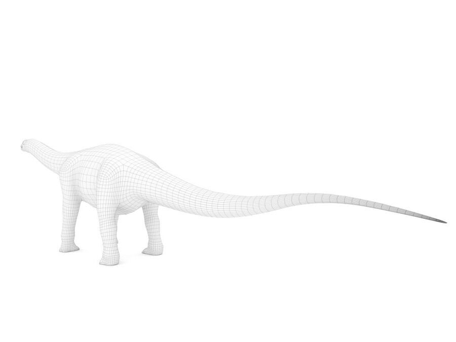 Argentinosaurus Rigged royalty-free 3d model - Preview no. 18