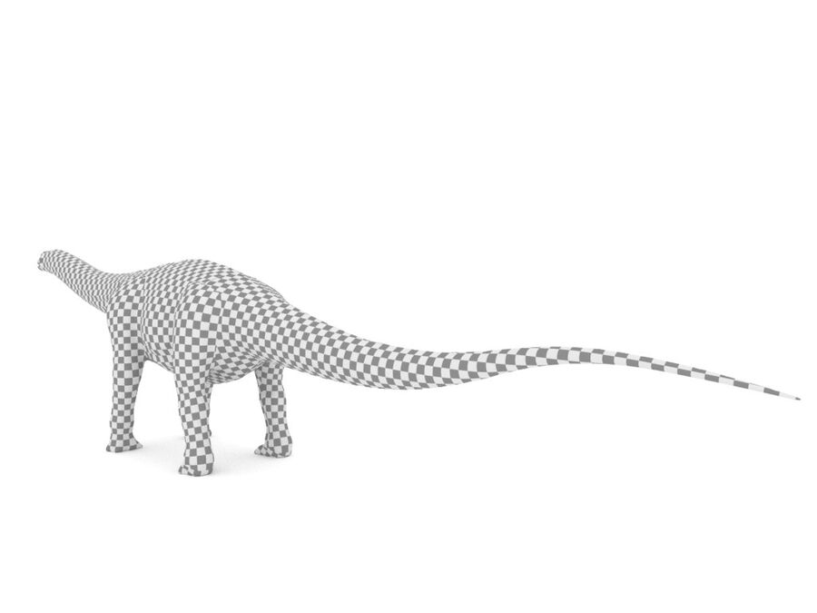 Argentinosaurus Rigged royalty-free 3d model - Preview no. 22