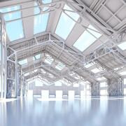 3D Futuristic Architectural Interior 20 3d model