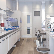 科学実験室2 3d model