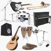 Instrumentsamling 3d model