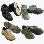 Coleção de sapatos 15 3d model
