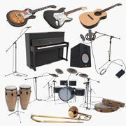 Instrumentsamling 2 3d model