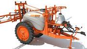 Jacto getrokken landbouwspuit 3d model