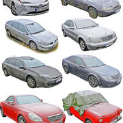 Paquete de coches reales 8 modelo 3d