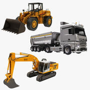 Construction Vehicle Collection 3d model