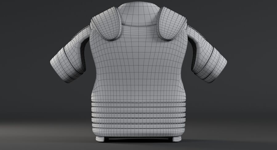 Body Armor royalty-free 3d model - Preview no. 20