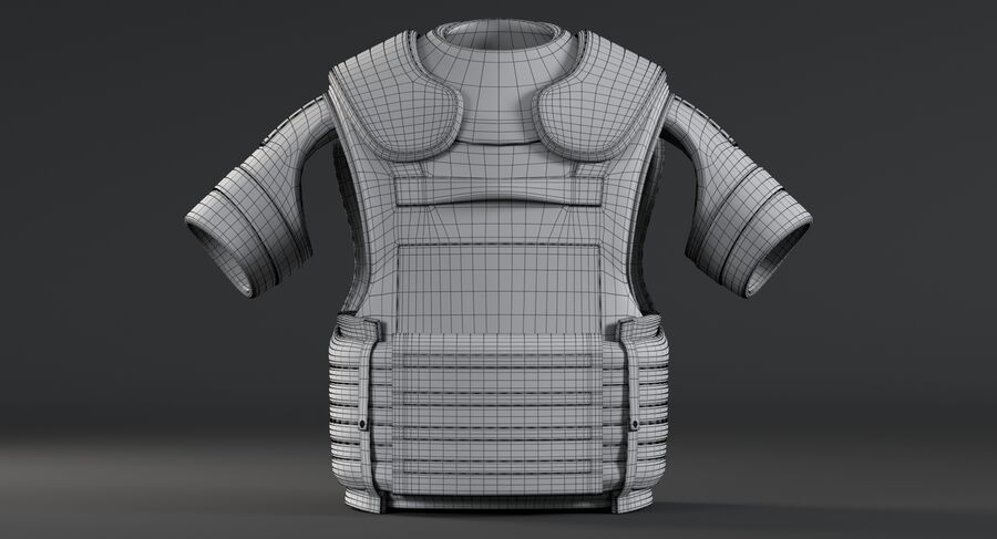 Body Armor royalty-free 3d model - Preview no. 16