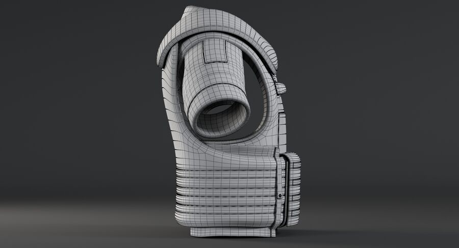 Body Armor royalty-free 3d model - Preview no. 18