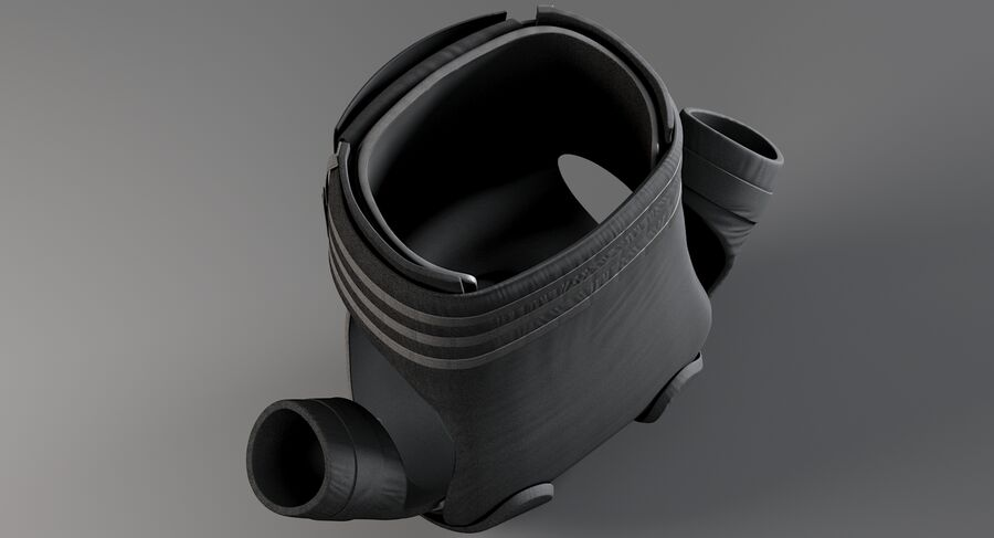 Body Armor royalty-free 3d model - Preview no. 12