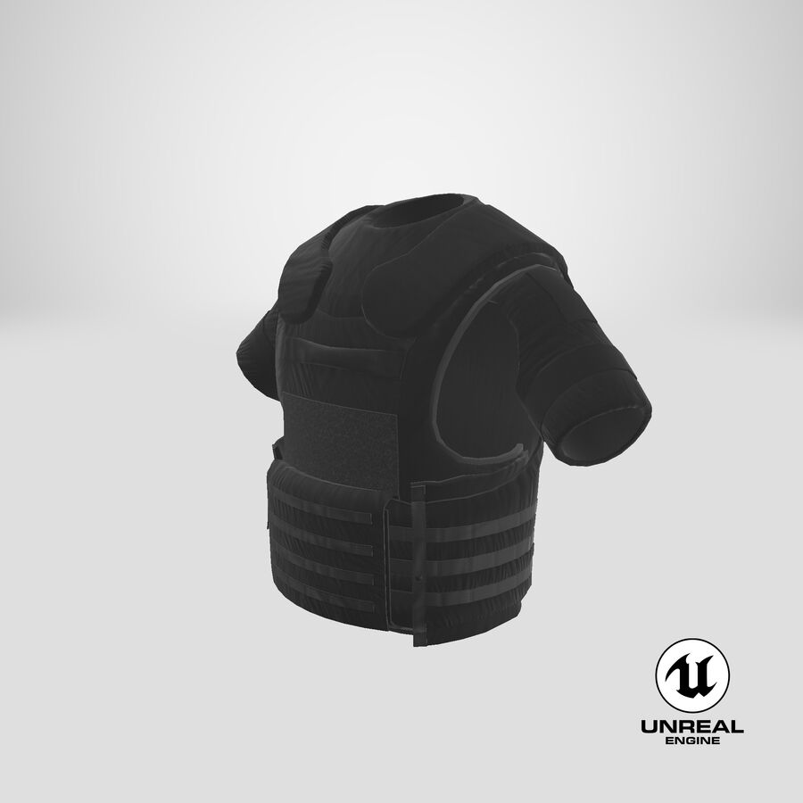 Body Armor royalty-free 3d model - Preview no. 30