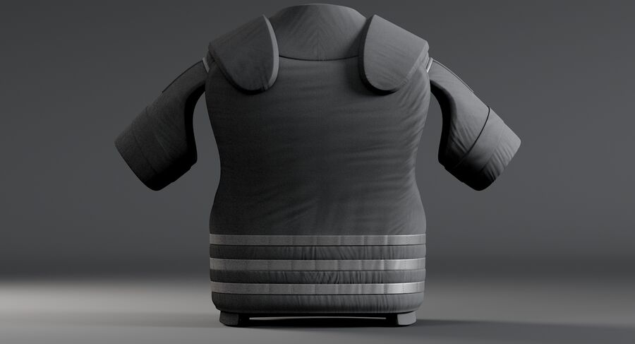 Body Armor royalty-free 3d model - Preview no. 9