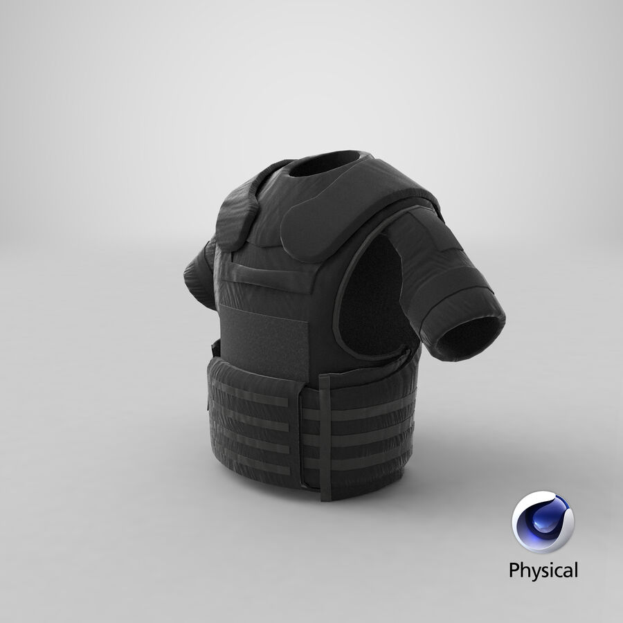 Body Armor royalty-free 3d model - Preview no. 28