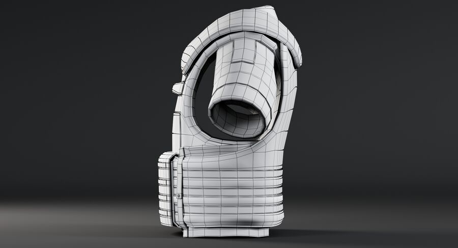 Body Armor royalty-free 3d model - Preview no. 21