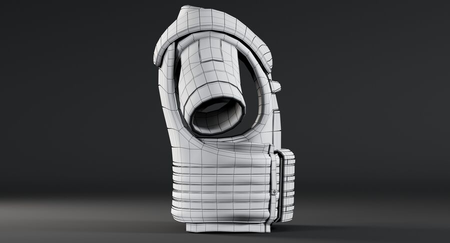 Body Armor royalty-free 3d model - Preview no. 17