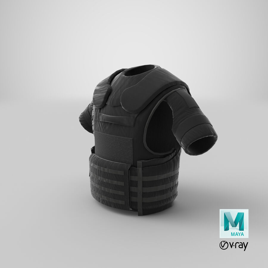 Body Armor royalty-free 3d model - Preview no. 34