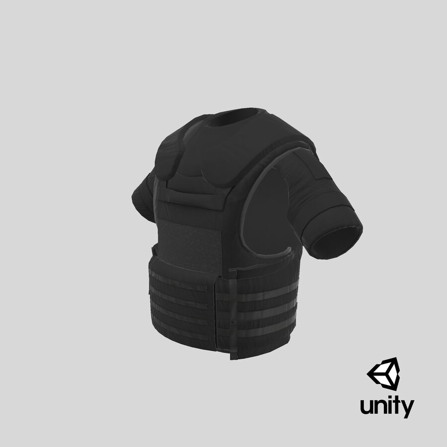 Body Armor royalty-free 3d model - Preview no. 29
