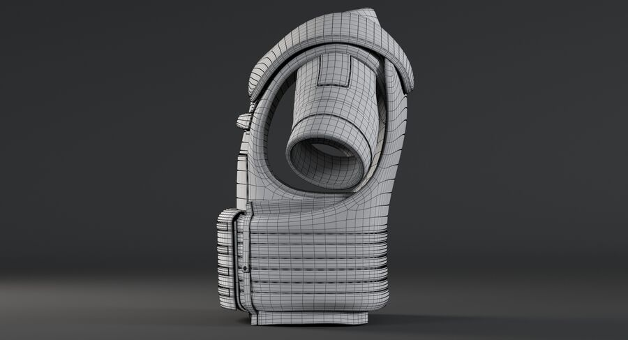 Body Armor royalty-free 3d model - Preview no. 22