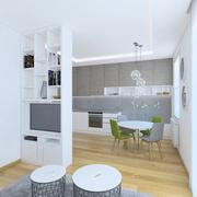 Vilnius küçük şirin daire 3d model