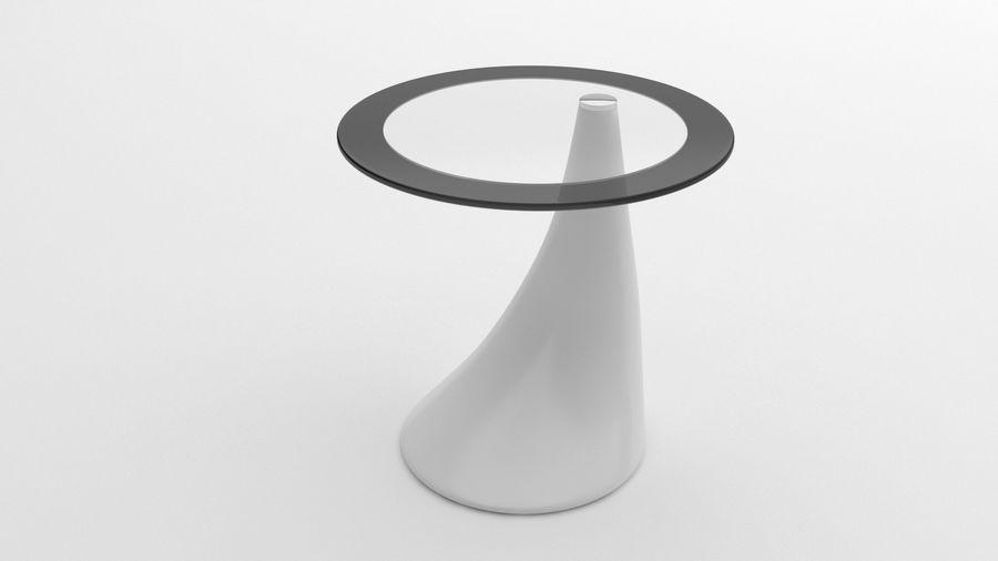 Nowoczesny stolik kawowy royalty-free 3d model - Preview no. 6