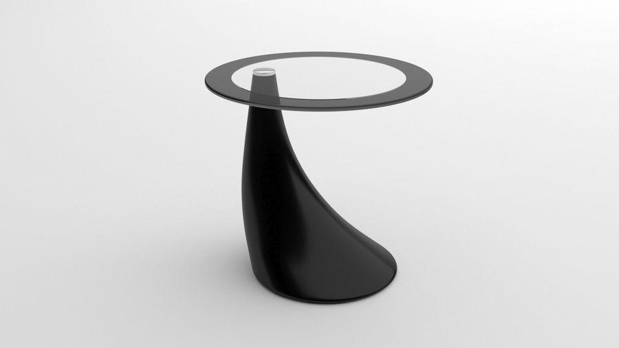 Nowoczesny stolik kawowy royalty-free 3d model - Preview no. 5