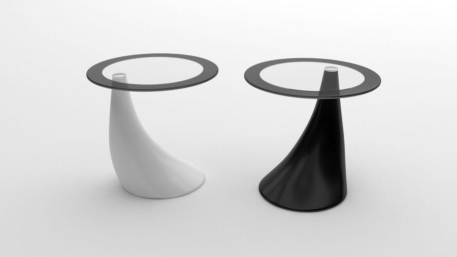 Nowoczesny stolik kawowy royalty-free 3d model - Preview no. 2