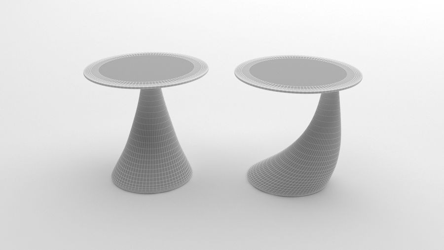 Nowoczesny stolik kawowy royalty-free 3d model - Preview no. 8