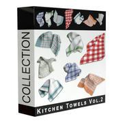 Kitchen Towels Vol 2 3d model