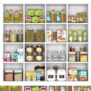 cupboard with food 3d model