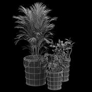Farmstead planters 3d model