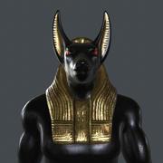 STUE-001 Estatua de Anubis modelo 3d
