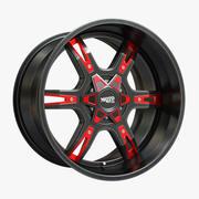 Moto Metal Wheel 3d model
