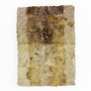 Alfombra de lana suave modelo 3d
