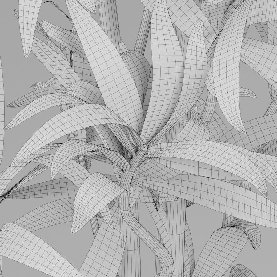 Kleine Pflanze royalty-free 3d model - Preview no. 13