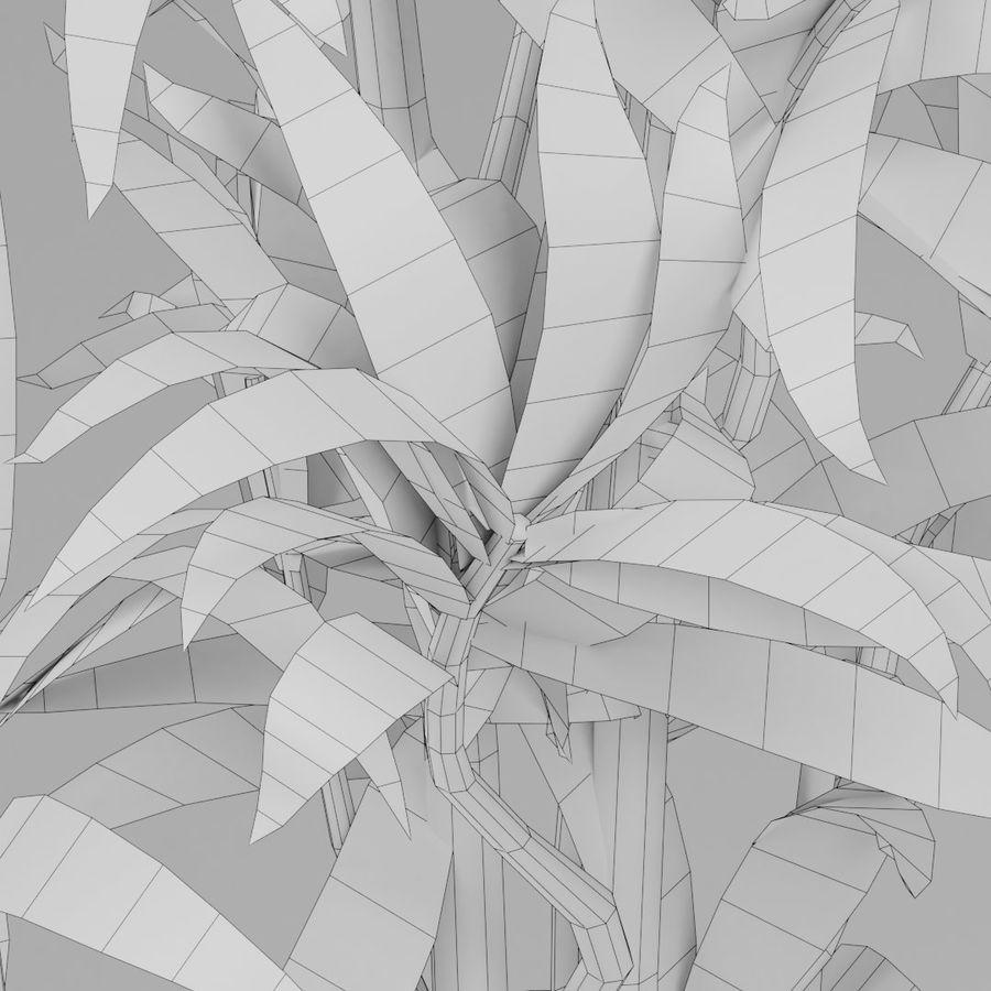Kleine Pflanze royalty-free 3d model - Preview no. 11