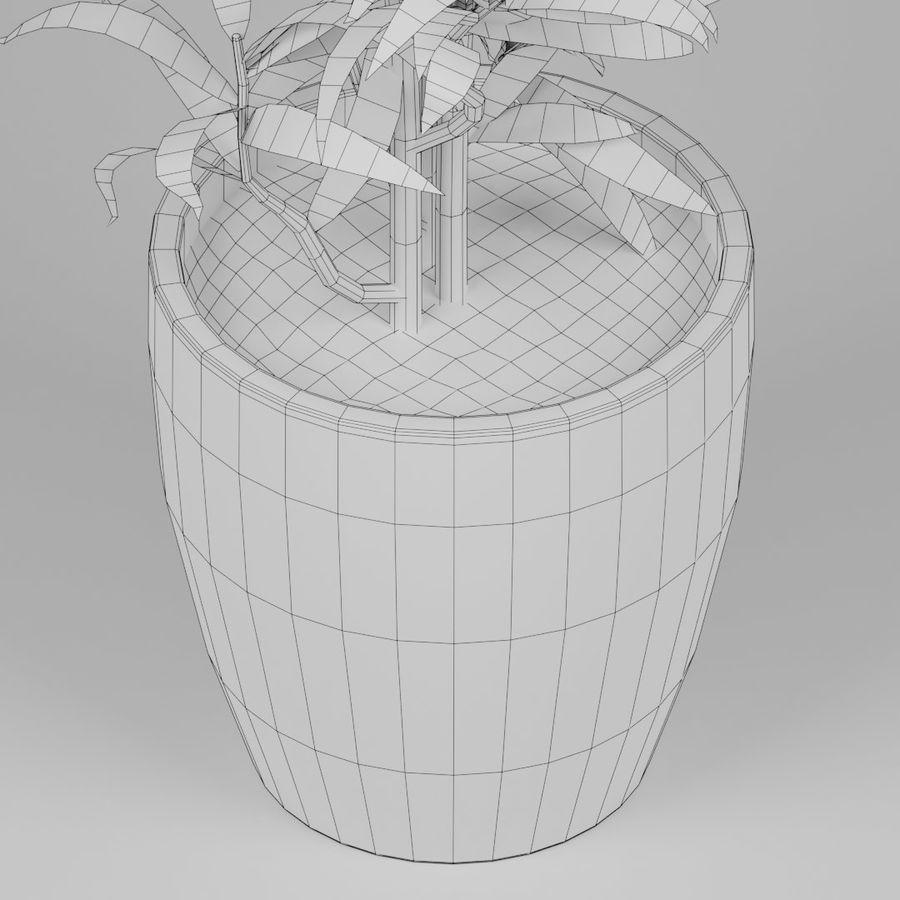 Kleine Pflanze royalty-free 3d model - Preview no. 8