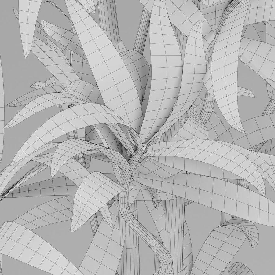 Kleine Pflanze royalty-free 3d model - Preview no. 12