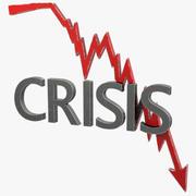 Кризис График Версия 1 3d model