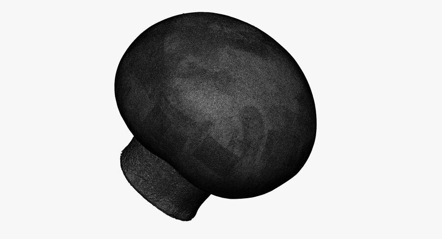 Crimino Mushroom 01 RAW SCAN royalty-free 3d model - Preview no. 14