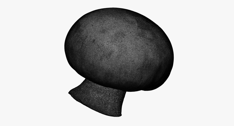 Crimino Mushroom 03 RAW SCAN royalty-free 3d model - Preview no. 14