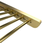 Motorized Pergola 3a brass satin polished 3d model