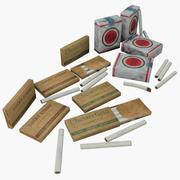 Сигареты США Второй Мировой 3d model
