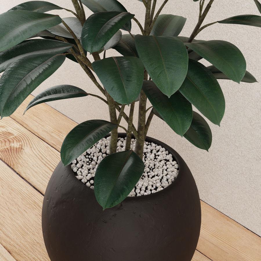 Home plant pot royalty-free 3d model - Preview no. 4