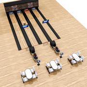 Bowling Alley 3D Model 3d model